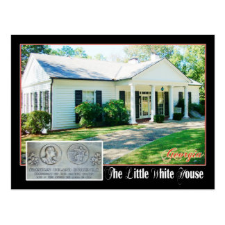 Carte Postale Peu de Maison Blanche du FDR, Warm Springs, GA