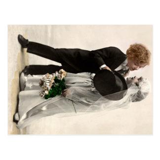 Carte Postale Peu de mariage