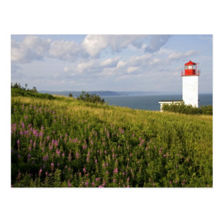 Carte Postale Phare à St Martins, Nouveau Brunswick,
