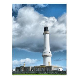Carte Postale Phare d'Aberdeen Ecosse