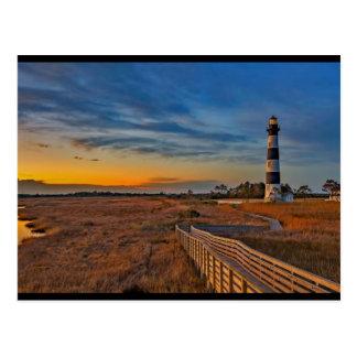 Carte Postale Phare de Bodie, la Caroline du Nord