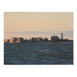 Carte Postale Phare de cou de Sandy de port de Barnstable