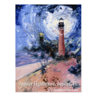 Carte Postale Phare de Jupiter