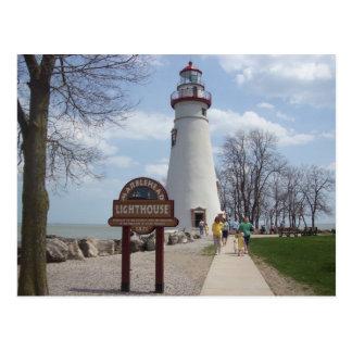 Carte Postale Phare de Marblehead, Ohio
