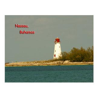 Carte Postale Phare de Nassau