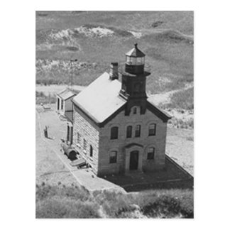 Carte Postale Phare de nord d'Île de Block