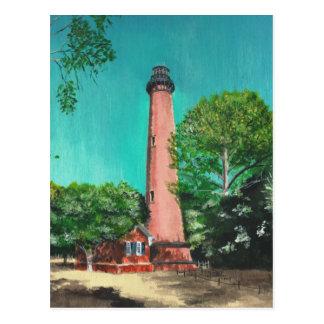 Carte Postale Phare de plage de Currituck