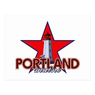 Carte Postale Phare de Portland