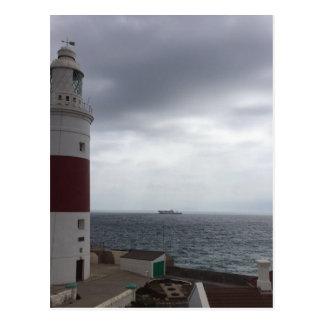 Carte Postale Phare du Gibraltar