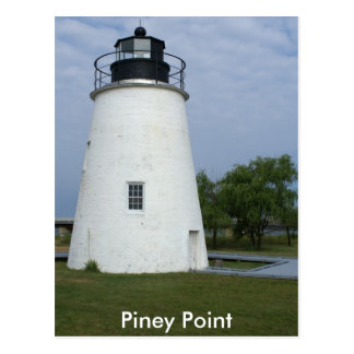 Carte Postale Phare Piney de point