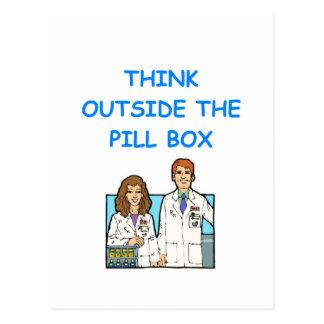 Carte Postale pharmacien