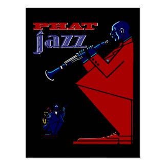 Carte postale Phat de jazz