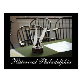 Carte Postale Philadelphie historique