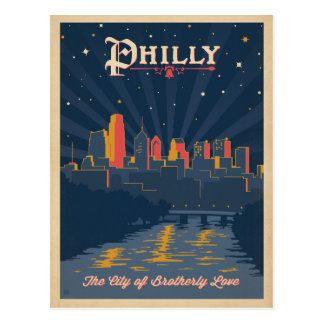 Carte Postale Philadelphie, PA