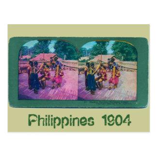 Carte Postale Philippines 1904