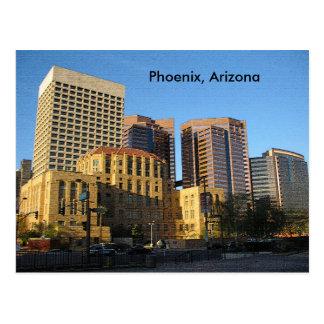 Carte Postale Phoenix, Arizona du centre