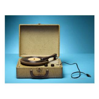 Carte Postale Phonographe vintage