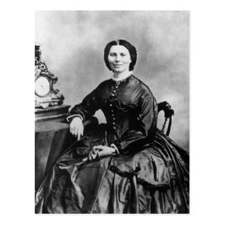 Carte Postale Photo 1866 de cru de ~ de portrait de Clara Barton