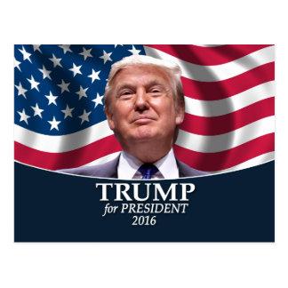 Carte Postale Photo de Donald Trump - président 2016