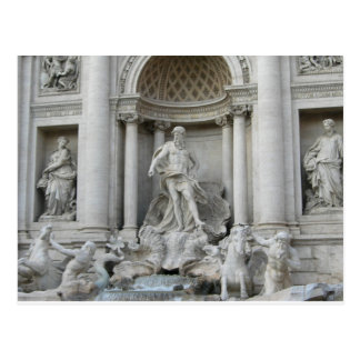 Carte Postale Photo de Fontana di Trevi Rome de fontaine de