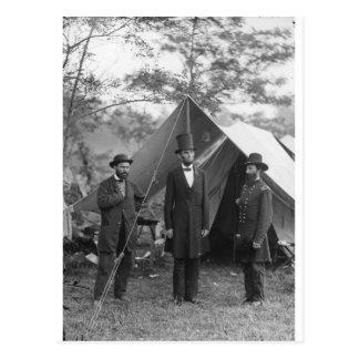 Carte Postale Photo de guerre civile Circa 1862