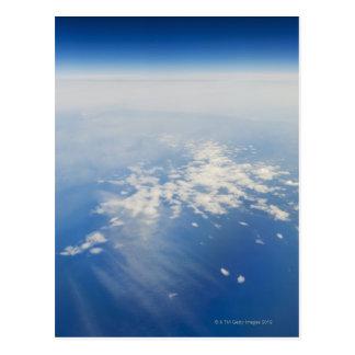 Carte Postale Photo de haute altitude de la terre