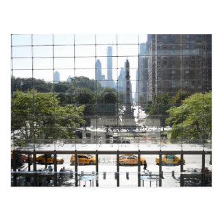 Carte Postale Photo de négligence de New York City de cercle de