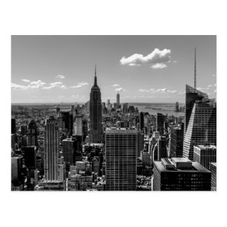 Carte Postale Photo de New York City avec l'Empire State
