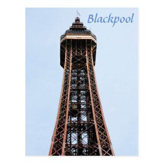 Carte Postale Photo de souvenir de tour de Blackpool