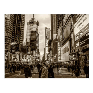 Carte Postale Photo de Times Square à New York City