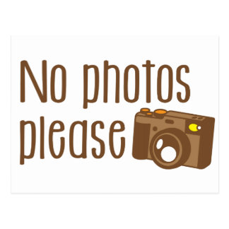 Carte Postale Photo ne satisfait pas avec l'appareil-photo