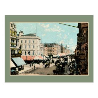 Carte Postale Photo vintage de Londres de rue d'Oxford de