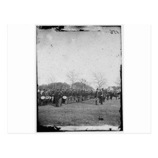 Carte Postale Photographie de la marine fédérale. Guerre civile.