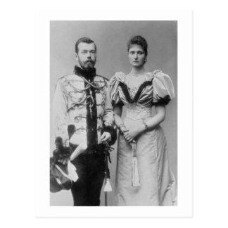 Carte Postale Photographie de portrait de tsar Nicholas II