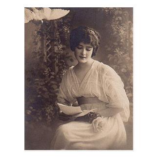 Carte Postale Photographie femelle vintage