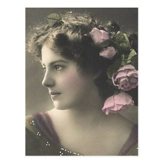 Carte Postale Photographie femelle vintage (2)