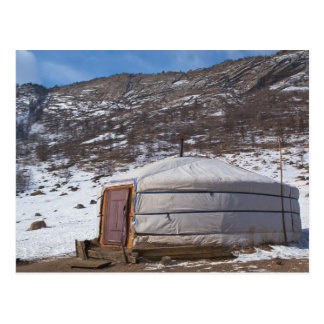 Carte Postale Photographie mongole de campagne