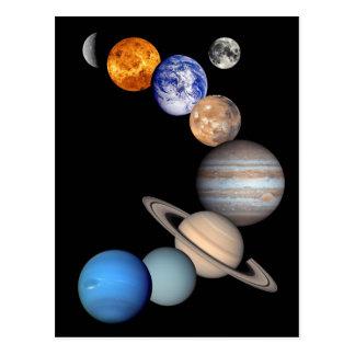 Carte Postale Photos de planète du montage JPL de système
