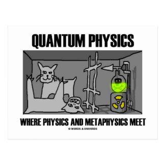 Carte Postale Physique de Quantum où la physique et la