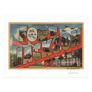 Carte Postale Pi Jackson, la Caroline du Sud - grande scène de