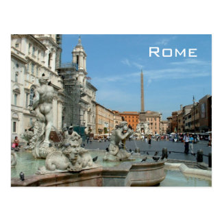 Carte Postale Piazza Navona - Rome