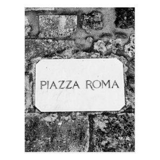 Carte Postale Piazza Roma