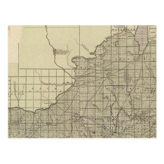 Carte Postale Pièce de sud du Wisconsin