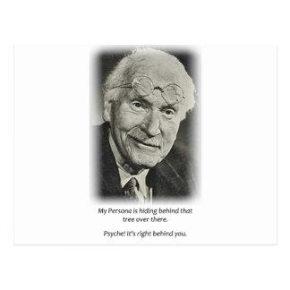 Carte Postale Pièce en t de Person de Jung