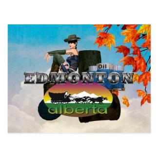 Carte Postale PIÈCE EN T Edmonton