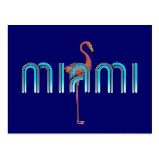Carte Postale PIÈCE EN T Miami