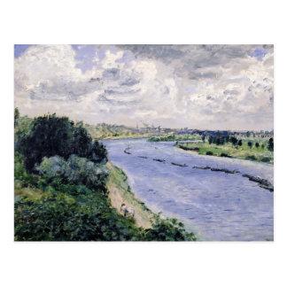 Carte Postale Pierre péniches de Renoir un | sur la Seine