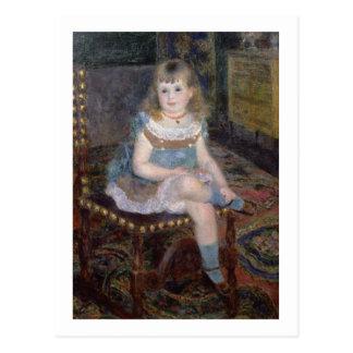 Carte Postale Pierre un portrait de Renoir | de Mlle. G.