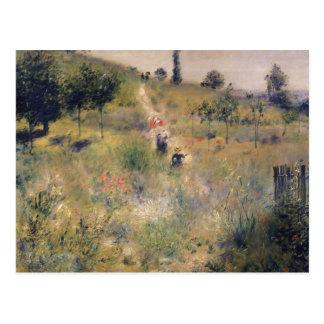 Carte Postale Pierre un Renoir   le chemin à travers la longue