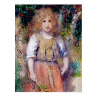 Carte Postale Pierre une fille gitane de Renoir |